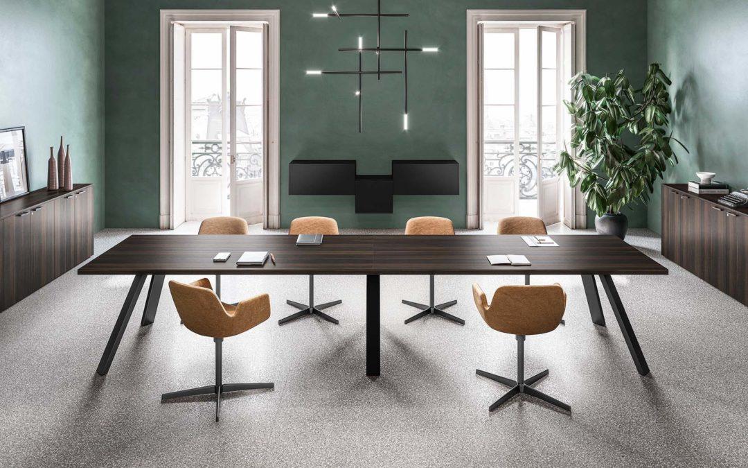 K Leg Meeting Table