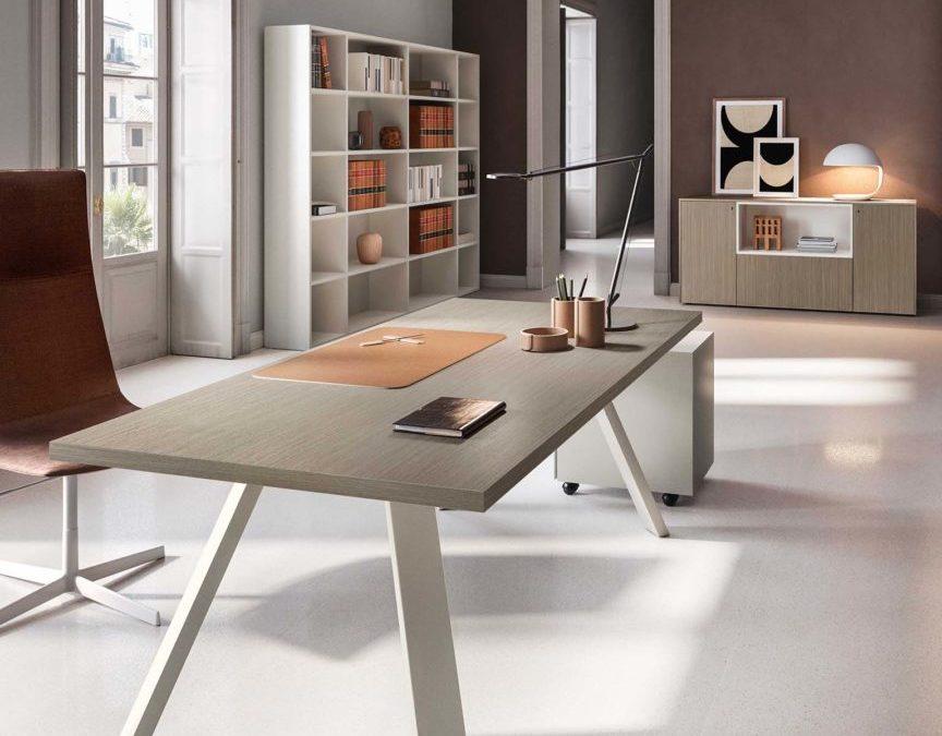K Leg Desk