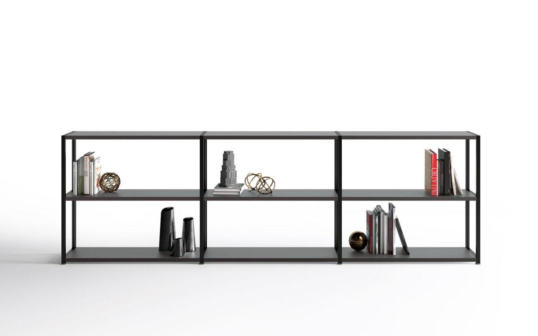 Kono Aluminium Bookcase